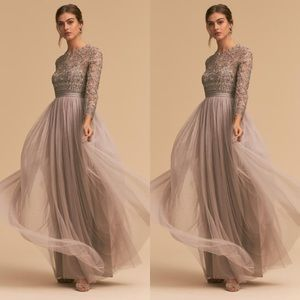BHLDN x Needle & Thread Miramar Dress Oyster